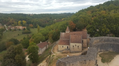 Beautiful Dordogne countryside.