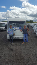 with Mirabelle the motorhome